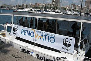 ENERGIA SOLAR BARCO WWF