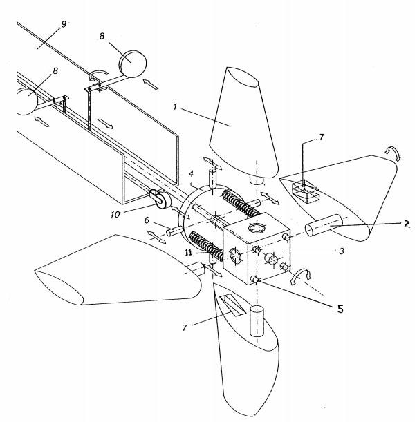 ENERGIA EOLICA - AEROGENERADOR 4 PALAS